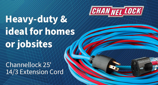 Channellock extension cord