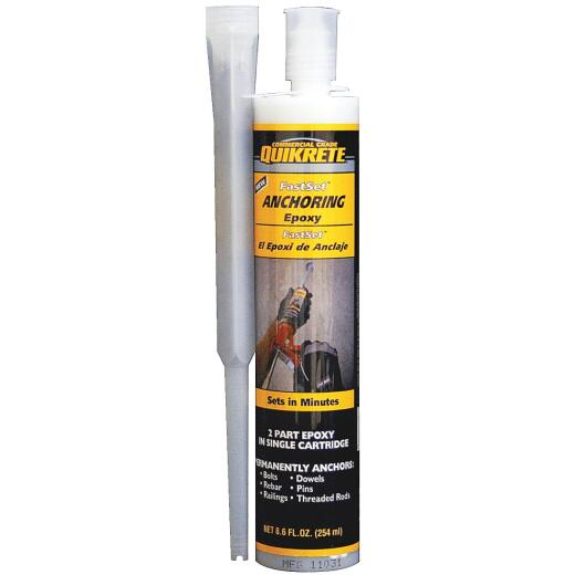 Quikrete 8.6 oz. Fast Set Anchor Epoxy