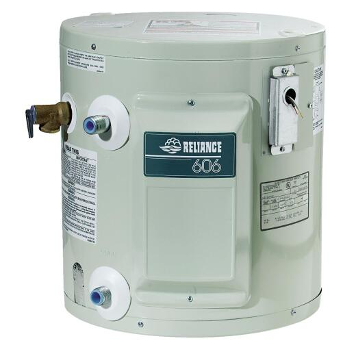 Reliance 10 Gal. Compact 6yr 1650W Element Electric Water Heater